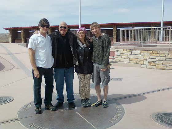 CUA members and friends at Four Corners